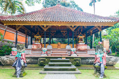 Inside Bali Palace at Indonesia Royalty Free Stock Images