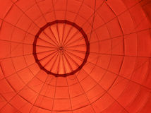 Inside balloon. Inside hot air balloon  background Royalty Free Stock Photography