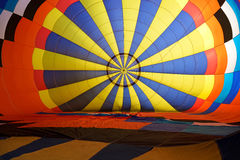 Inside balloon hot air Stock Photography