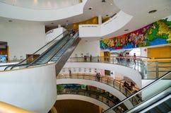 Inside of Bangkok Art and Culture Centre Stock Photo