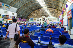 Inside of Bangkok train station, Thailand Stock Photos