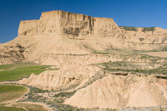 Inside of the Bardenas Reales Royalty Free Stock Image