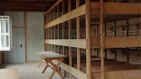 Inside Barrack Concentration Camp