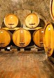 Inside Barrel House, Italy Stock Image