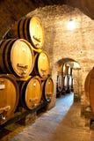 Inside Barrel House, Italy Stock Photo
