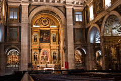 Inside of Basilica da Estrela, Lisbon Royalty Free Stock Images