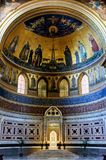 Inside the Basilica di San Giovanni in Laterano, Rome Royalty Free Stock Photo