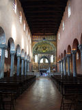 Inside Basilica of Euphrasius Stock Photography