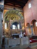 Inside Basilica of Euphrasius Royalty Free Stock Images