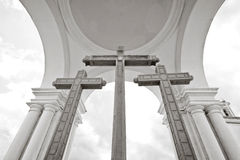 Inside the Basilica of Our Lady of Copacabana, Bol Royalty Free Stock Image