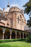 Inside Basilica of Saint Anthony of Padua, Italy. Courtyard of the Basilica of Saint Anthony of Padua, Veneto, Italy Stock Photos