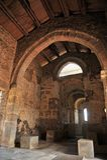 Inside the Basilica of Santa Lucia del Trampal in Alcuescar. Spain Royalty Free Stock Photos