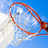 Inside of a basketball Royalty Free Stock Photography