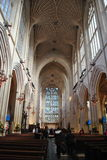 Inside Bath Abbey Royalty Free Stock Photography