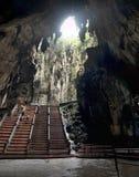 Inside Batu caves in Malaysia Stock Photo