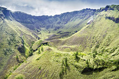 Inside Batur volcano Royalty Free Stock Photography