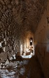 Inside Beaufort Crusader Castle, South Lebanon royalty free stock photos