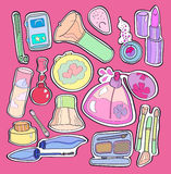 Inside beauticians Stock Image