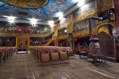 Inside the beautiful Amargosa Opera Royalty Free Stock Photo