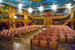 Inside the beautiful Amargosa Opera House Stock Photo