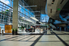 Inside of BMW Welt Royalty Free Stock Images