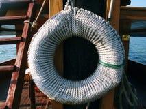 Inside a boat sailing in Bai tu long Royalty Free Stock Photo