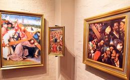 Inside Bosch art centre at 's-Hertogenbosch, Netherlands Royalty Free Stock Photography