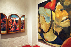 Inside Bosch art centre at 's-Hertogenbosch, Netherlands Stock Photos