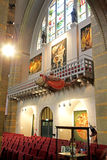 Inside Bosch art centre at 's-Hertogenbosch, Netherlands Royalty Free Stock Image