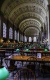 Inside Boston Library Royalty Free Stock Photos