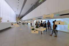 Inside Brazylia pawilon, expo 2015 Mediolan Fotografia Stock