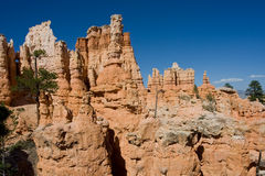 Inside Bryce Canyon Stock Photo