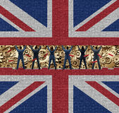 Inside Brytania gospodarka Obraz Royalty Free