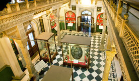 Inside the building of the Albert Hall Museum with valuable exhibits Stock Photo