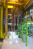 Inside building in cern Stock Image