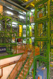 Inside building in cern Royalty Free Stock Photo