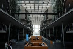 Inside the Bundestag Entrance Hall royalty free stock images