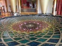 Inside Burj Al arab Zdjęcia Royalty Free