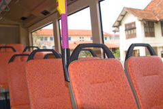 Inside the Bus Royalty Free Stock Photo
