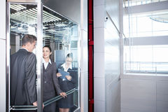 Inside the business building Stock Photography