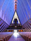 Inside Cadet Chapel Royalty Free Stock Image
