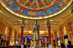 Inside Caesars, Las Vegas Stock Photo