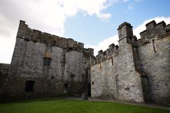 Inside Cahir Castle in Ireland Stock Photography