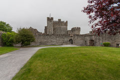 Inside Cahir Castle Royalty Free Stock Photo