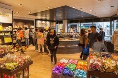 Inside a candy shop. In Lucerne,Switzerland Stock Photography