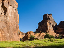 Inside Canyon de Chelly Stock Photography