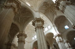 Inside of the Capilla Real. Granada, Spain stock photos