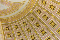 Inside the Capitol Building. Amazing dome inside the Capitol Building Royalty Free Stock Images