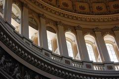 Inside Capitol Rotunda in Washington, DC. Stock Photo