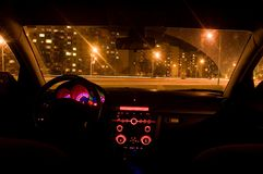 Inside of a car Royalty Free Stock Photography